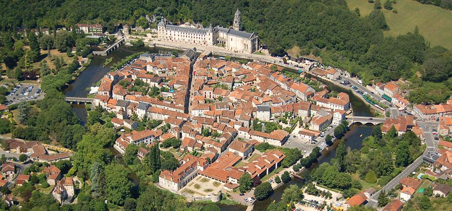 Brantome in the Dordogne